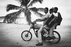 Republica Dominicana - modern trasportation ( Peppedam -www.glam.vision) Tags: travel bw beach way photo paradise dominican dominicanrepublic moto caribbean republicadominicana saman chldren lasgaleras giuseppedamico nikond3