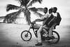Republica Dominicana - modern trasportation ( Peppedam -www.glam.vision) Tags: travel bw beach way photo paradise dominican dominicanrepublic moto caribbean republicadominicana samanà chldren lasgaleras giuseppedamico nikond3