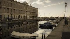 Ponterosso (marco.cmt28) Tags: italia mare barche trieste canale ponterosso friuliveneziagiulia ormeggio