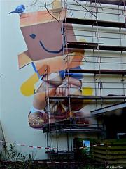 Rotterdam Street art : TELMO MIEL (Akbar Sim) Tags: streetart holland netherlands rotterdam mural nederland rotjeknor akbarsimonse akbarsim telmomiel