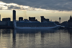 Caribbean Princess (Gareth Garbutt) Tags: rivermersey