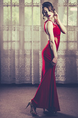 Fire And Ice (Gerardo Nava Fotografa.) Tags: red portrait art beautiful mxico 50mm dress retrato sony sigma alpha sonu 2016 sonyzeiss sigmaart sonyflickraward a77ii sonymxico