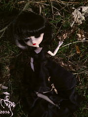 Souls of the Woods (Malina (LaelP)) Tags: cute nature beautiful souls hope spring woods doll pretty sad forrest melissa creepy groove ghosts lonely pullip obitsu sunjuan