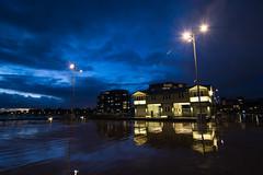 Princes Pier (Lamuel Chung) Tags: sunset buildings mirror magic australia melbourne victoria shore hour