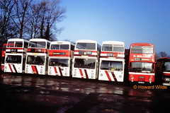 All in a row (SelmerOrSelnec) Tags: bus bullock metro stockport dennis southampton daimler leyland fleetline parkroyal b20 gmt londontransport dms cheadle dominator eastlancs northerncounties westyorkshirepte sua9r c284bbp thx539s thx563s wbn998l yna294m