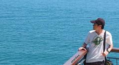 Ocean Blue (stardex) Tags: ocean sea man me thailand kohsamui stardex