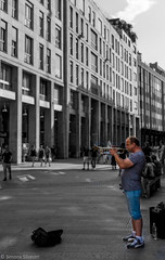 Trumpet (simy_sun) Tags: milan italy streetphotography street urban people