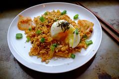 Kimchi Fried Rice for breakfast at home (Premshree Pillai) Tags: nyc newyorkcity food ny newyork brooklyn egg homemade bklyn homecooked bk kimchifriedrice nycwinter16
