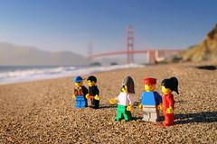 In search for John Watson a.k.a. Wonko the Sane (Kviht) Tags: goldengate sanfrancisco bakerbeach usa lego bridge california gimp