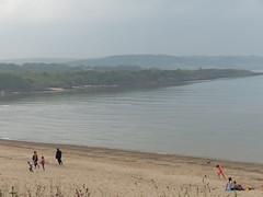 Lligwy Bay (FloraandFauna_2) Tags: sea sky beach grass sand headland anglesey lligwy