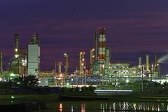 Taiyo Oil, Kikuma Plant, Ehime, JAPAN (Hiro_A) Tags: plant japan night nikon factory sigma shikoku oil taiyo 1770 ehime kikuma 1770mm d7200