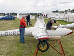 Rigging... (Air Frame Photography) Tags: uk england flying aircraft airplanes competition gliding glider gliders ls oxfordshire dg shenington bga regionals avgeek realflying
