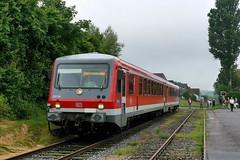 P2320742 (Lumixfan68) Tags: 628 eisenbahn db bahn schnberg hein vt deutsche regio zge triebwagen baureihe dieseltriebwagen verbrennungstriebwagen westfrankenbahn