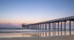 """Scripp'd "" sunset's beauty (Catching_alchemic light) Tags: scripps sunset sand seascape waves ocean water pierside sandiego la jolla long exposure nd filter"