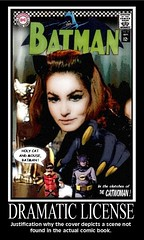 "BATMAN 1966 featuring Catwoman : ""Holy Cat And Mouse, Batman!"" (DarkJediKnight) Tags: robin humor fake 1966 cover comicbook batman parody spoof dccomics catwoman julienewmar adamwest motivationalposter burtward"