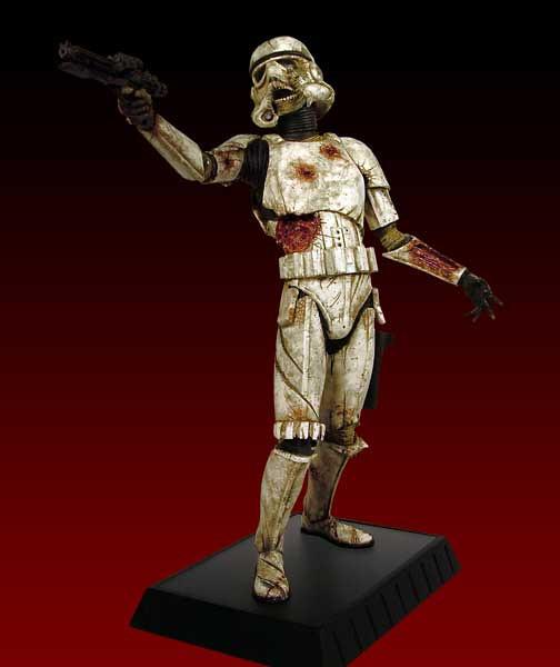Gentle Giant - Death Trooper 殭屍白兵雕像 !