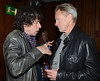 Stephen Rea, Sam Shepard An intimate evening of music and readings with Patti Smith and Sam Shepard in support of the Abbey Theatre's New Playwrights Programme, Dublin, Ireland