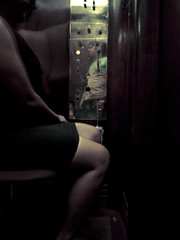Rio de Janeiro (mardruck) Tags: auto brazil portrait rio brasil self de janeiro panel retrato elevator olympus 12mm 20 zuiko elevador painel ep3