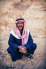 Local Bedouin man (www.garymcgovern.net) Tags: desert citadel wadirum petra amman jordan deadsea bedouin
