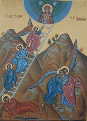 Icon Jacob's dream and ladder (bobosh_t) Tags: icons orthodox