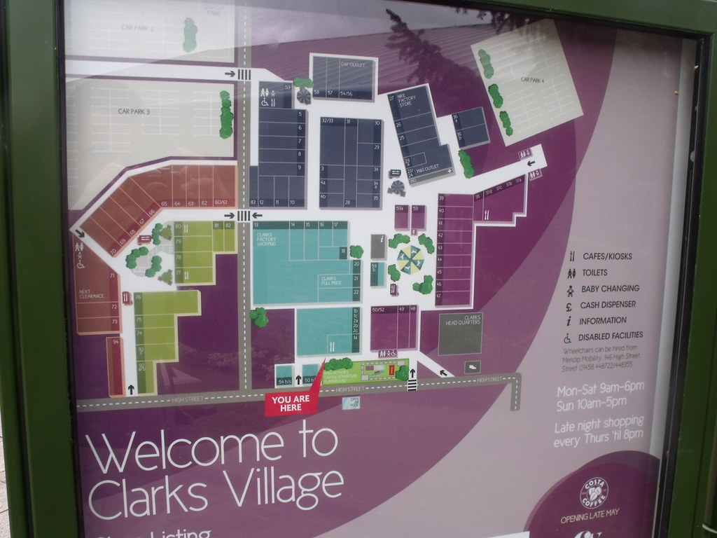 Clarks Village Map The World's most recently posted photos of greatbritain and  Clarks Village Map