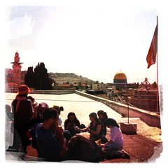 On the roof of the Austrian Hospitz, Jerusalem