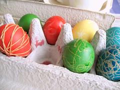 Easter eggs (lottielulu) Tags: kids easter egg craft dye decorate