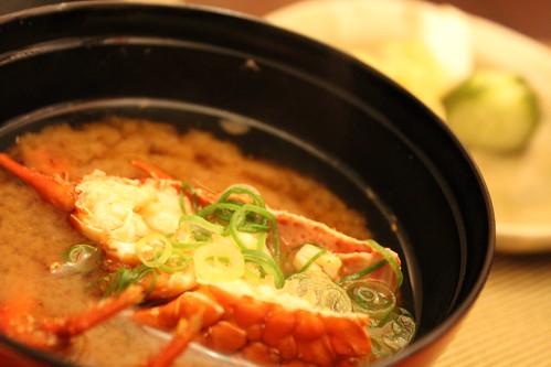 【あら汁】寿司屋の味噌汁【赤だし】
