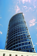High and mighty. (ADIDA FALLEN ANGEL) Tags: windows sky building architecture clouds israel telaviv high nikon horizon d40