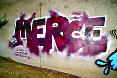 Merce KND (El Funky Taladro) Tags: county orange graffiti fuego merce ruche rusk blends knd mewt rtes