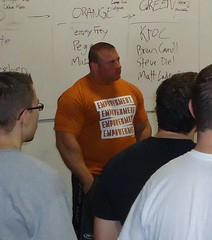 "Kroc Helping Out at an Elitefts Learn To Train Seminar • <a style=""font-size:0.8em;"" href=""http://www.flickr.com/photos/77416569@N07/7108524803/"" target=""_blank"">View on Flickr</a>"