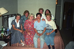 16th  IGES (1993)  Last group picture, Xi'an, China: the ladies (Yvon from Ottawa) Tags: china ladies photo group beijing 1993 16th iges internationalgeochemicalexplorationsymposium