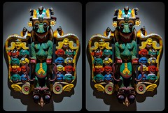 Mahakala Mask 3D ::: HDR Cross-Eye Stereoscopy (Stereotron) Tags: 3d 3dphoto 3dstereo 3rddimension spatial stereo stereo3d stereophoto stereophotography stereoscopic stereoscopy stereotron threedimensional stereoview stereophotomaker stereophotograph 3dpicture 3dglasses 3dimage crosseye crosseyed crossview xview cross eye pair squint squinting freeview sidebyside sbs kreuzblick twin canon eos 550d yongnuo radio transmitter remote control kitlens 1855mm tonemapping hdr hdri raw cr2 quietearth europe germany saxony sachsen mahakala mask craftmanship art relief wood shiva buddhism electricuniverse serpentor dragon snake sky catastrophism aeon cataclysm memory mankind velikovsky 2012 beautiful 100v10f