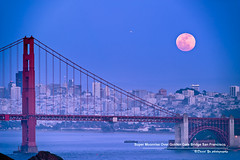 Super Moonrise Over Golden Gate Bridge San Francisco May 5 2012 (davidyuweb) Tags: sanfrancisco california bridge usa moon golden gate san francisco 5 over may super moonrise 2012 sfist supermoon