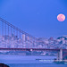 Super+Moonrise+Over+Golden+Gate+Bridge+San+Francisco+May+5+2012