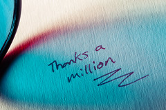 Thanks a million (views) (Ianmoran1970) Tags: macro thanks canon wow thankyou views million 1000000 ianmoran thanksamillion ianmoran1970