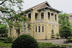 Former French villa, Hue (Joel Abroad) Tags: architecture french colonial vietnam villa riverfront hue perfumeriver leloi