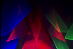 Pyramids of light (4ndre\/\/) Tags: light abstract fineart refraction caustics lightart