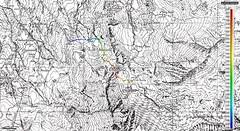Traccia quotata IGM (Emanuele Lotti) Tags: italy mountain alps montagne trekking lago italia 7 valle 2006 val gps cartina alpi aosta monti rifugio gruppo pila luglio pegaso cartografia colle impianti escursionismo traccia daosta arbolle graie chamole