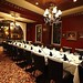 """red room corporate dinner/ rehearsal dinner setup • <a style=""""font-size:0.8em;"""" href=""""https://www.flickr.com/photos/77063495@N05/7495831642/"""" target=""""_blank"""">View on Flickr</a>"""