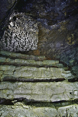 Rampgill (Midnight Photo) Tags: history industry archaeology underground dangerous mine arches mining level cumbria vein veins lead levels shaft pennines arching galena urbex adit industrialarchaeology adits rampgill nenthead northpennines breweryshaft