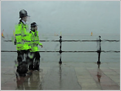 Another glorious English summer (steeedm) Tags: rain weather sailing police wirral westkirby merseyside britishsummer englishsummer merseysidepolice westkirbymarinelake friday6july