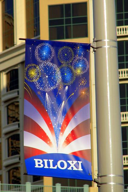 Biloxi Patriotic Banner