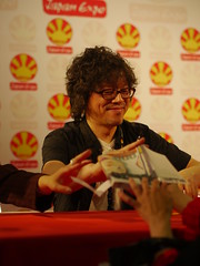 Naoki Urasawa - Japan Expo 13- 2012-0706-  P1410039 (styeb) Tags: paris japan expo convention 06 juillet 2012 vendredi villepintes