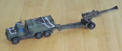 M923 Truck with M198 Howitzer (biomckill) Tags: howitzer micromachines m198 m923