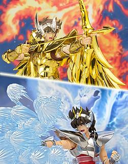 聖鬪士聖衣神話EX 天馬座星矢&射手座艾奧羅斯 特效零件套裝