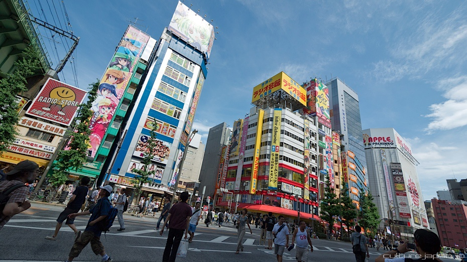 Akihabara in the Summer
