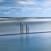 Rails (Martin Mattocks (mjm383)) Tags: longexposure blue sky seascape water clouds canon cornwall horizon minimal rails bude leefilters canoneos5dmarkii cornwalllandscapes mjm383 martinmattocksphotography