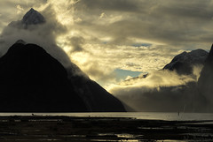 Mitre Peak (NathanaelBC) Tags: newzealand canon otago dslr milfordsound hdr fiordland polariser 400d canonef2485mmf3545usm