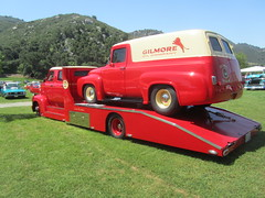 Ford C600 COE Hauler - 1953 (MR38.) Tags: ford truck panel cab over engine delivery 1956 coe 1953 hauler c600